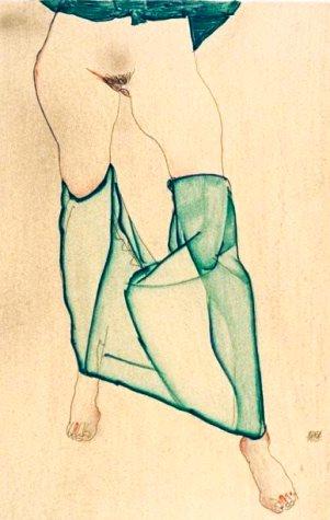 Egon Schiele ⋯ Standing Female Nude