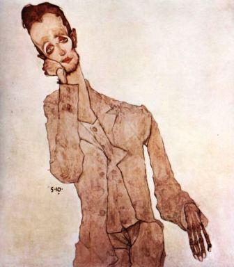 Egon Schiele ⋯ Porträt des Karl Zakovsek