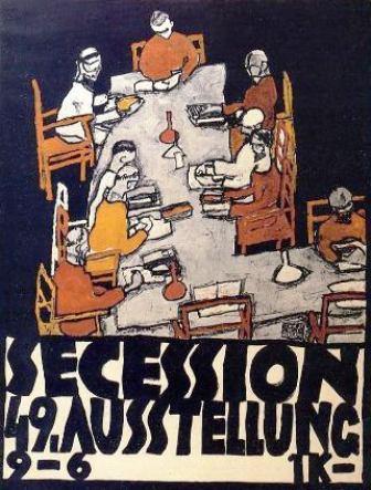Egon Schiele  ⋯ Affiche quarante-neuvième Secession Exhibition