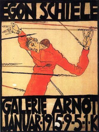 Poster per la mostra presso la Galerie Arnot
