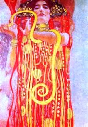 Gustav Klimt ⋯ Hygeia