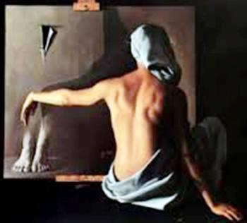 ⋯ Santiago Carbonell ⋯ Mujer en atelier