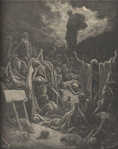 Gustave Doré ⋯ La visione di Ezekiel