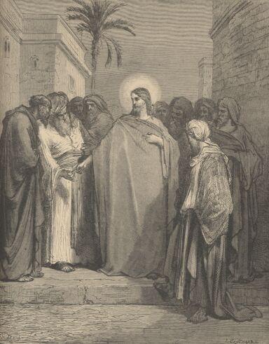 Gustave Doré ⋯ Gesù e il denaro tributo