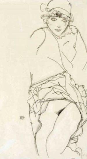 Egon Schiele ⋯ Frauenbildnis