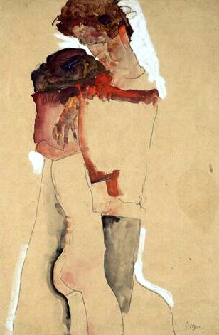 Egon Schiele ⋯ Eifersucht