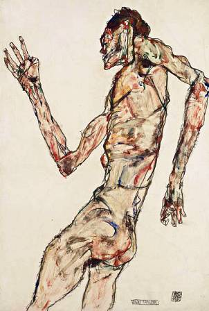 Egon Schiele ⋯ The Dancer