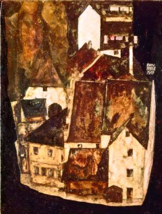 Egon Schiele ⋯ Dead City III (City on the Blue River)