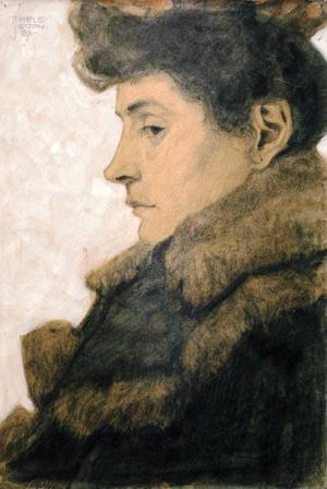 Egon Schiele ⋯ Bildnis Marie Schiele